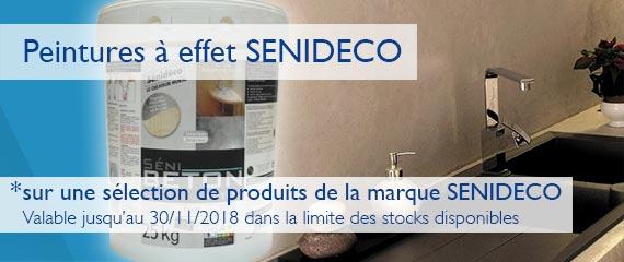 Promotion -10% sur une sélection de produits de la marque Senideco