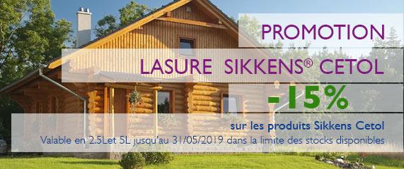 Promotion de -15% SIKKENS Cetol