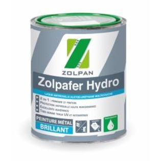 Laque antirouille multicouche: zolpafer hydro - zolpan