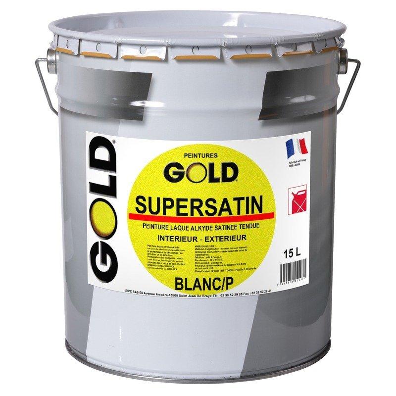 Gold supersatin