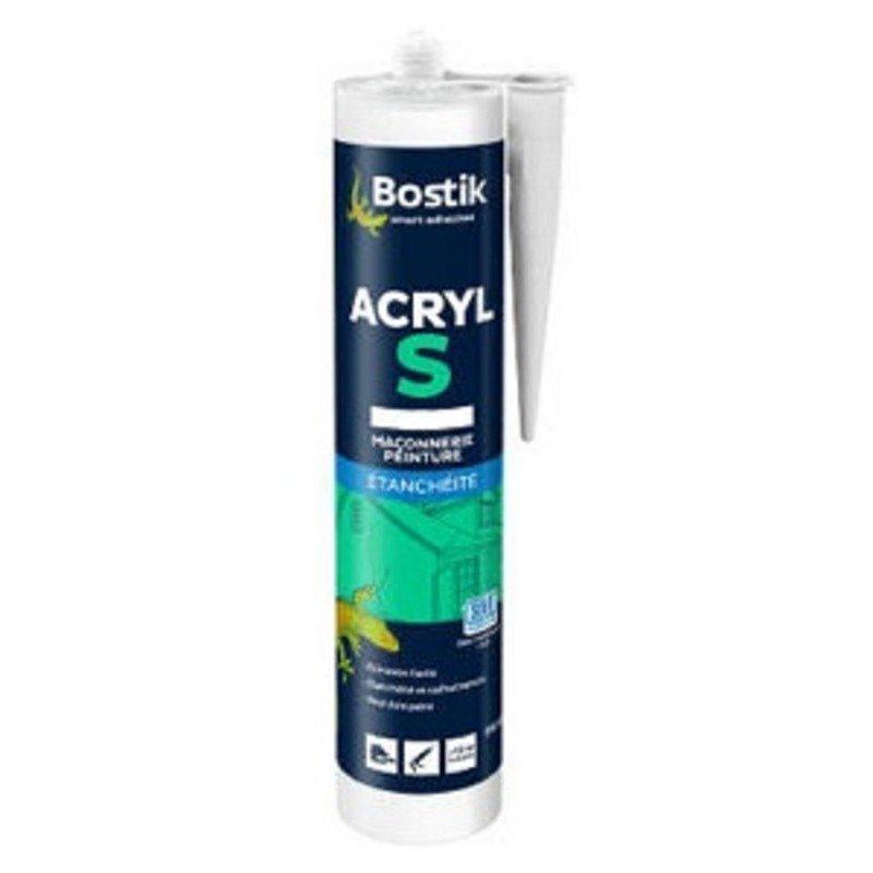 Mastic acrylique bostik acryl s
