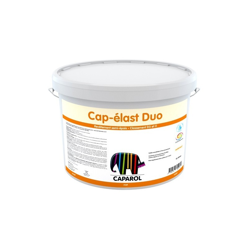 Peinture façade cap élast duo