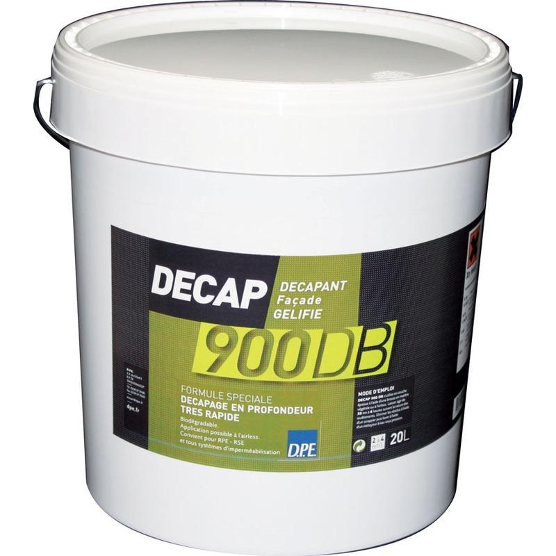 Décapant façade gélifié biodégradable decap 900 db