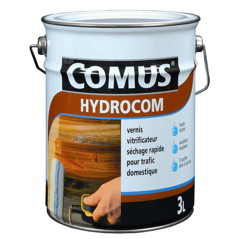 Vernis hydrocom brillant