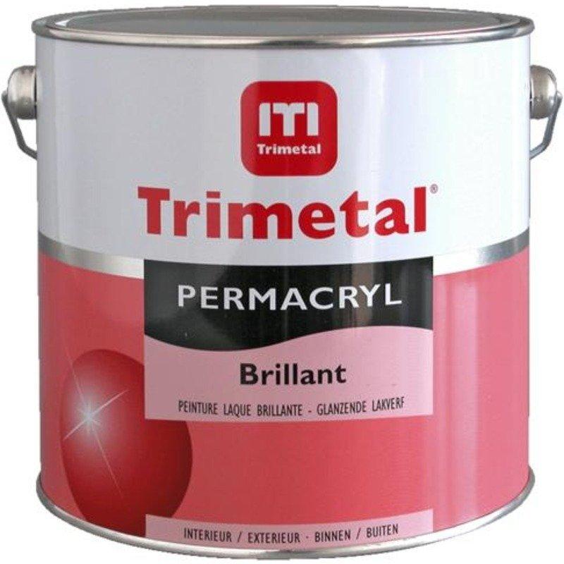 Peinture laque permacryl brillant districolor for Peinture satinee ou brillante