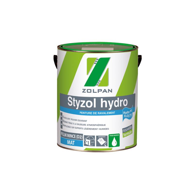 Peinture Hydropliolite Mate De Ravalement Styzol Hydro Zolpan