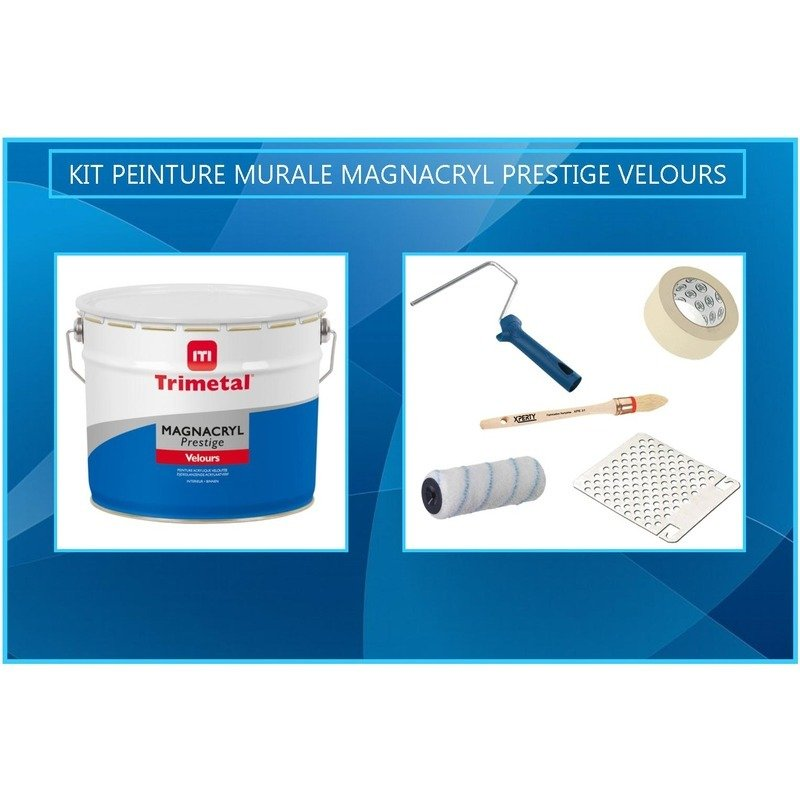 Kit Trimetal Magnacryl Velours Prestige 25m² Districolor