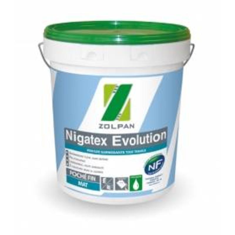 Peinture mate pour travaux de décoration intérieure : nigatex evolution - zolpan