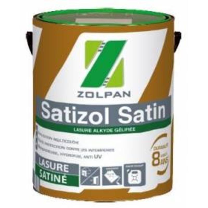 Lasure multicouche satinée satizol satin - zolpan
