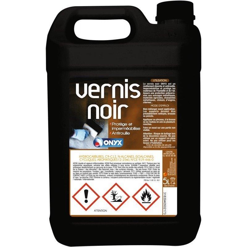 Vernis noir onyx