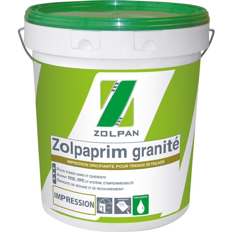 Impression granité mate: zolpaprim granité - zolpan